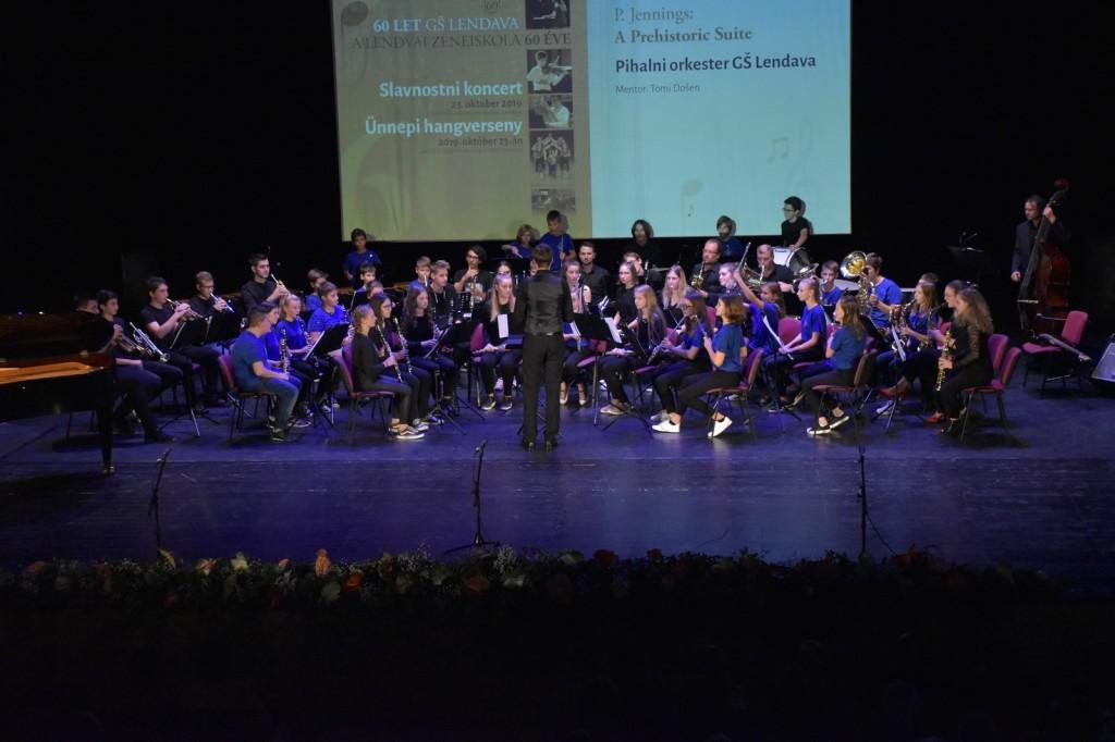 Slavnostni koncert ob 60-letnici GŠ Lendava, v gledališki in koncertni dvorani v Lendavi 23. 10. 2019