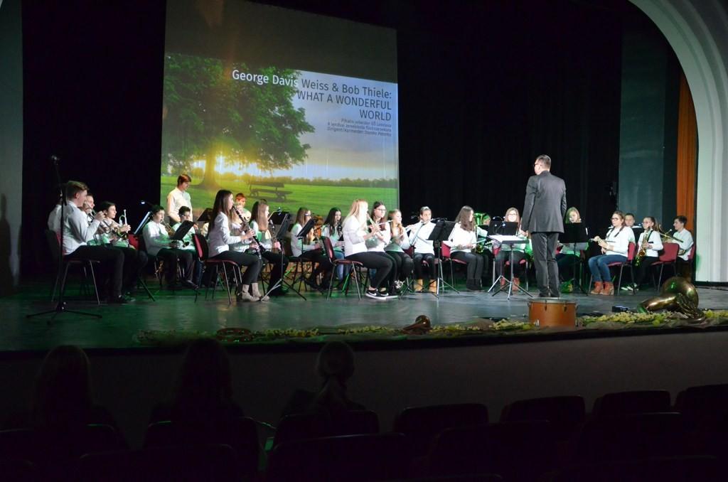 Koncert ob 20-letnici Pihalnega orkestra GŠ Lendava