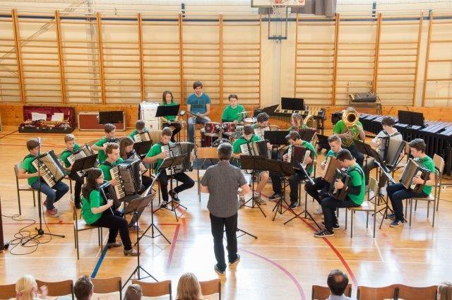 Zaključni koncert učencev na disloc. oddelku Turnišče