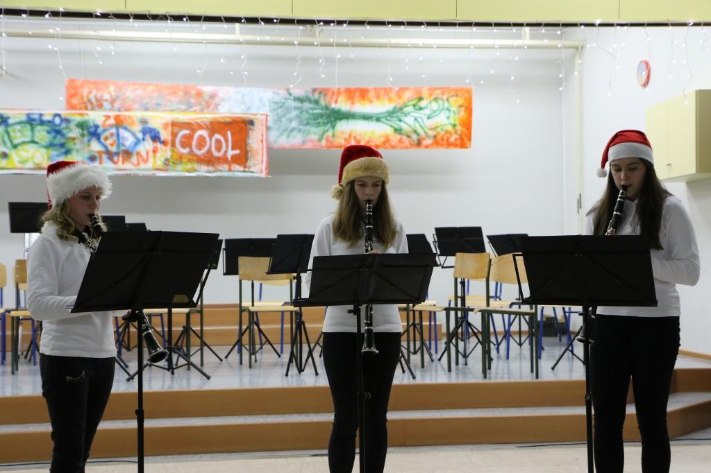 Božično-novoletni koncert učencev GŠ Lendava, oddelek Turnišče